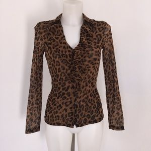 INC International Concepts Blouse Size Small.